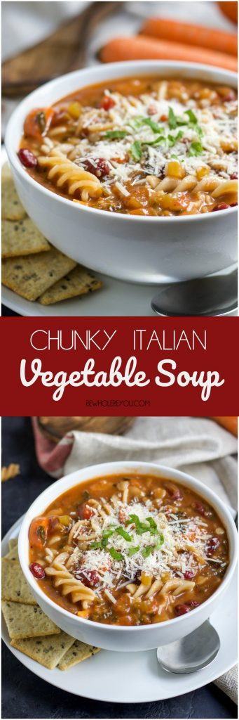 Chunky Italian Vegetable Soup