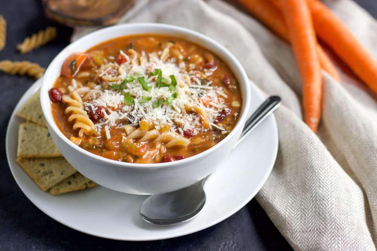 Chunky Italian Vegetable Soup