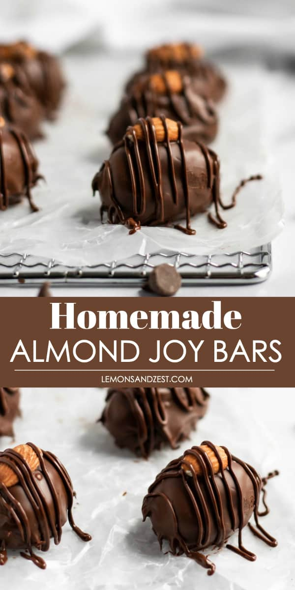 Homemade Almond Joy Bars