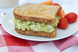 Simple Mayo-Free Egg Salad