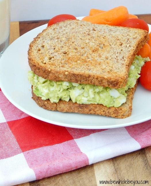 Simple Mayo-Free Egg Salad