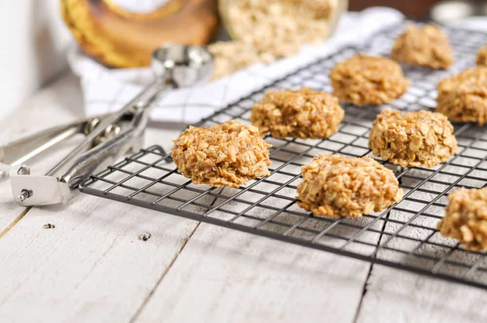 Banana Nut Oatmeal Breakfast Cookies