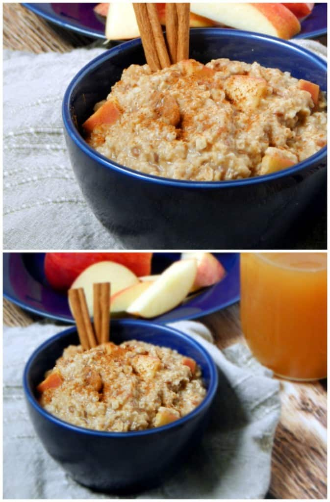 2-Minute Apple Cider Oatmeal