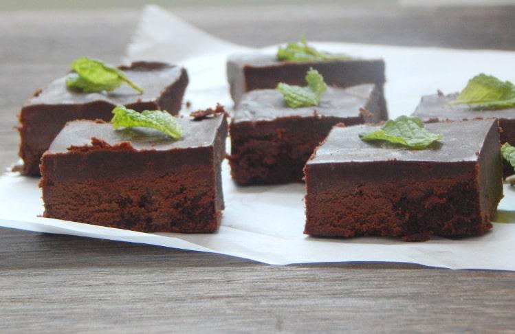 Dark Chocolate Mint Fudge