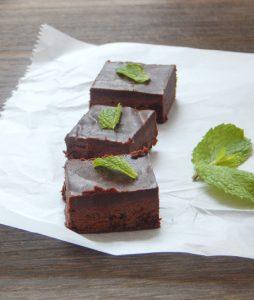 Dark Chocolate Mint Fudge 5