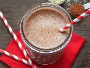 5 Minute Chocolate Hemp Milk