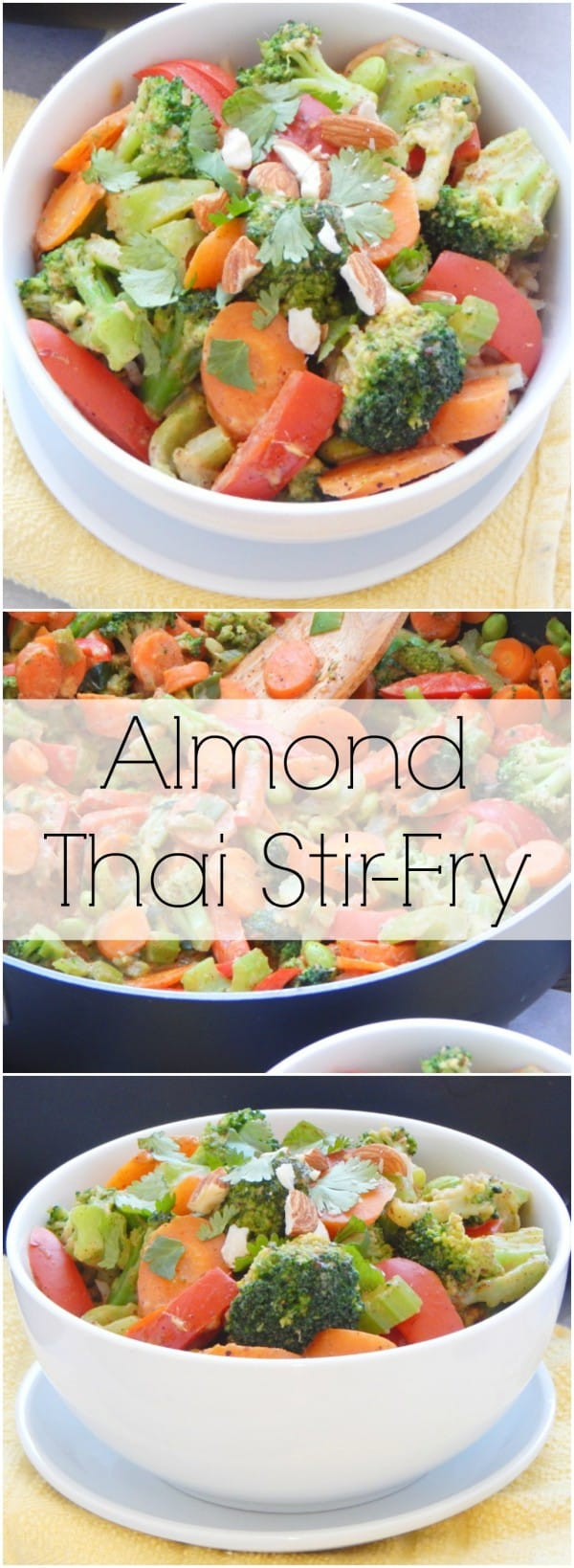 Almond Thai Stir-Fry