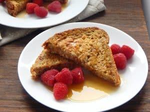 Cinnamon Cream Stuffed French Toast