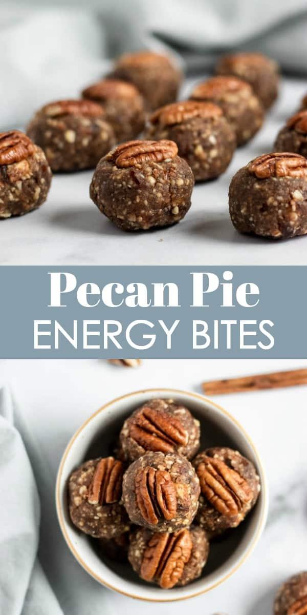 Pecan Pie Energy Bites