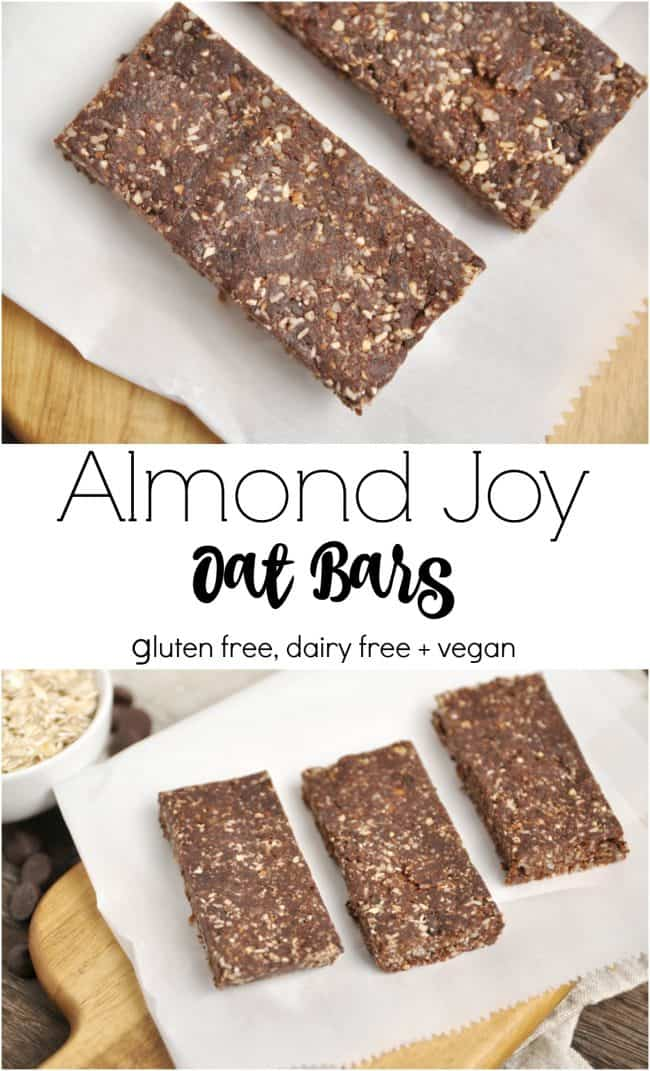 Almond Joy Oat Bars