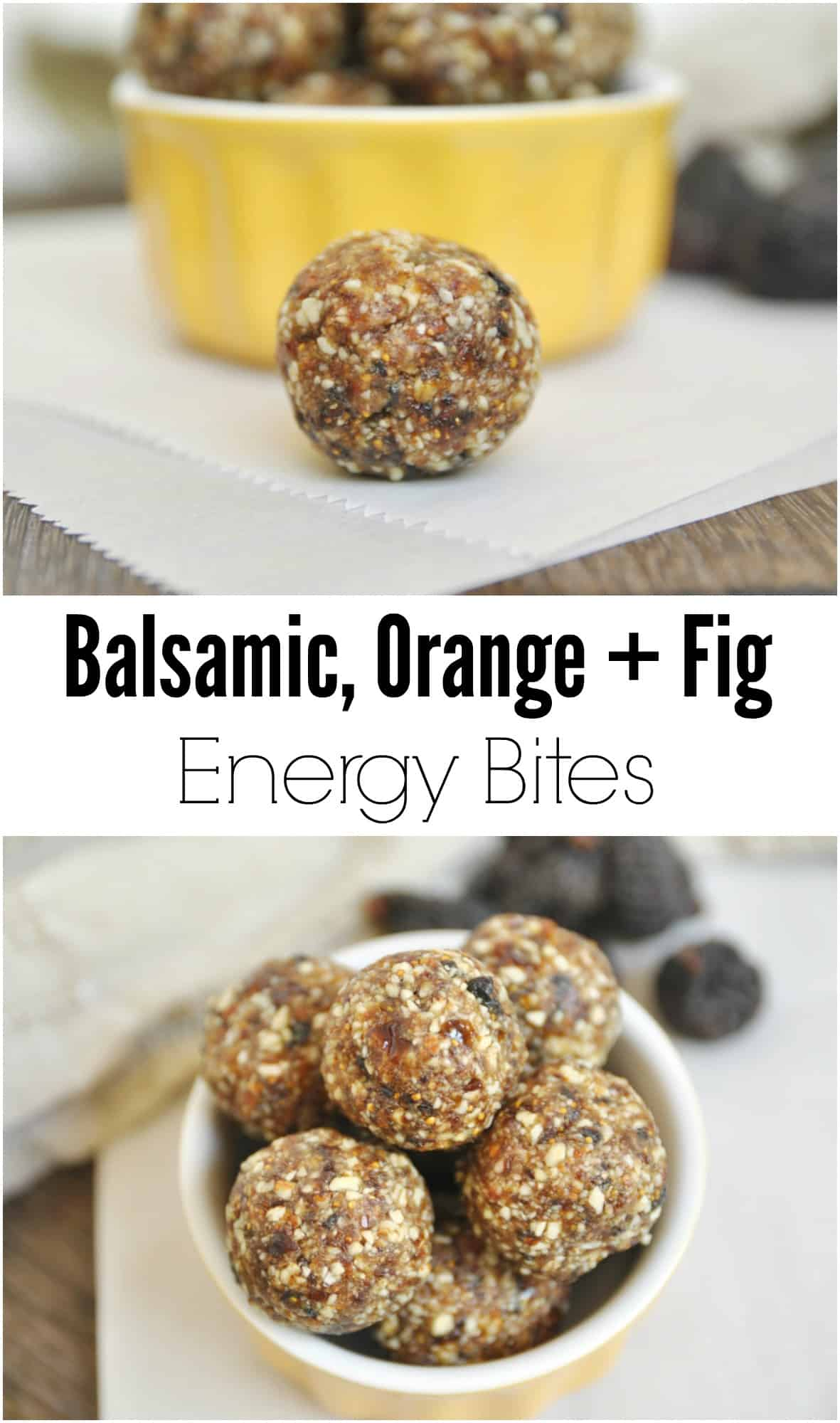 Balsamic Orange Fig Energy Bites