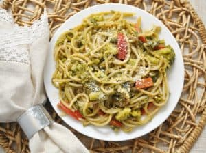 Creamy Broccoli Kale One Pat Pasta