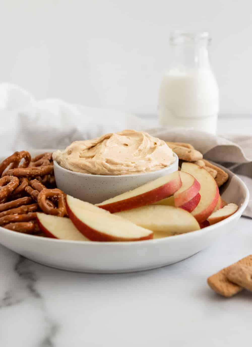 Peanut Butter Yogurt Dip Lemons Zest