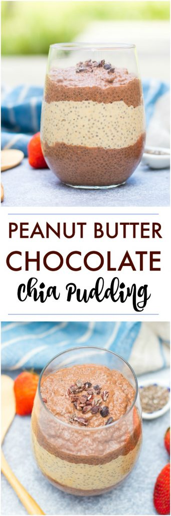 Peanut Butter Chia Pudding Pin.