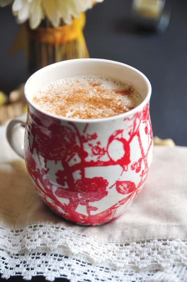 Ginger Spice Latte