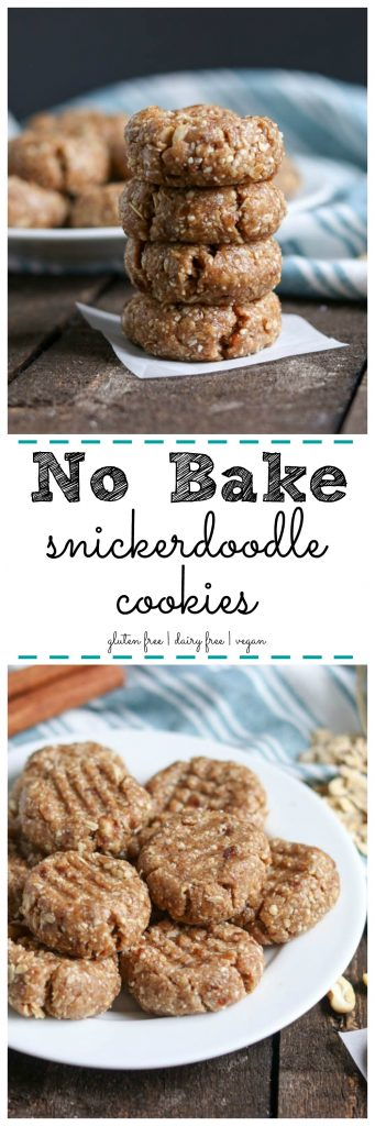No Bake Snickerdoodle Cookies. Be Whole. Be You.