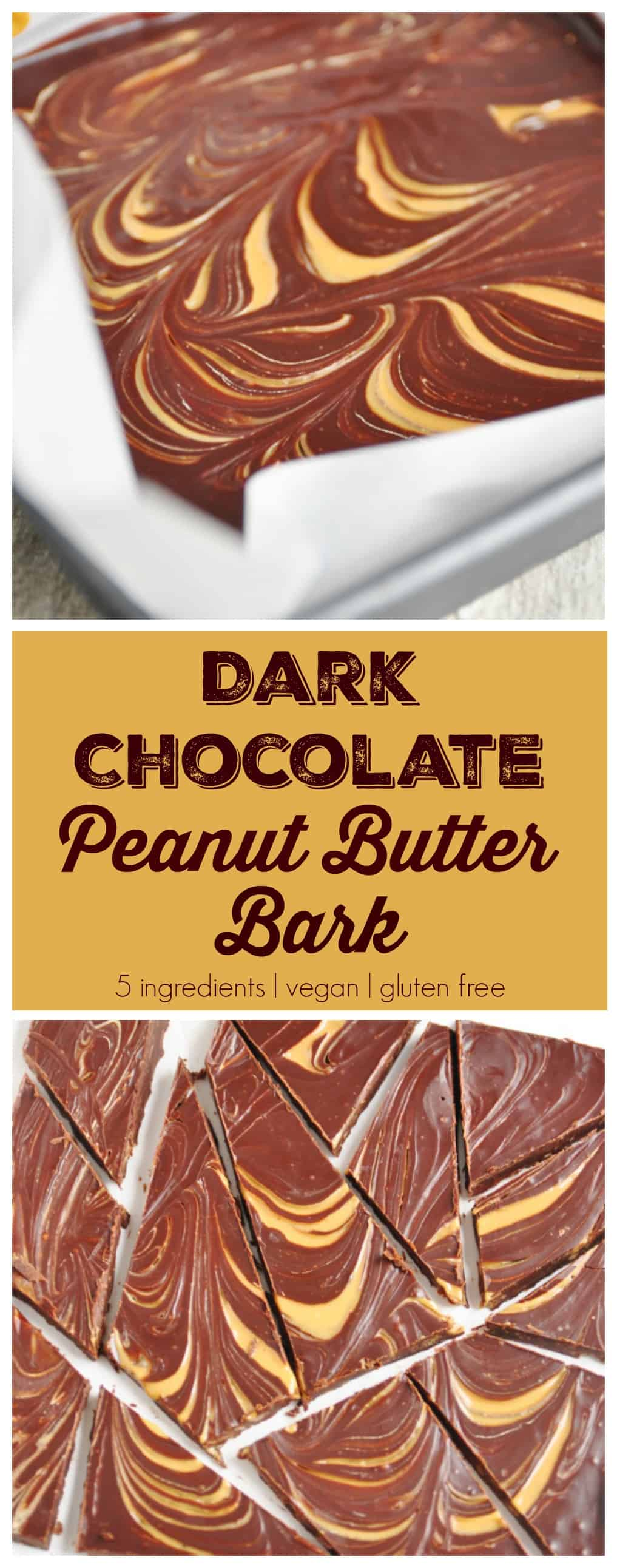 Dark Chocolate Peanut Butter Bark. Be Whole. Be You.