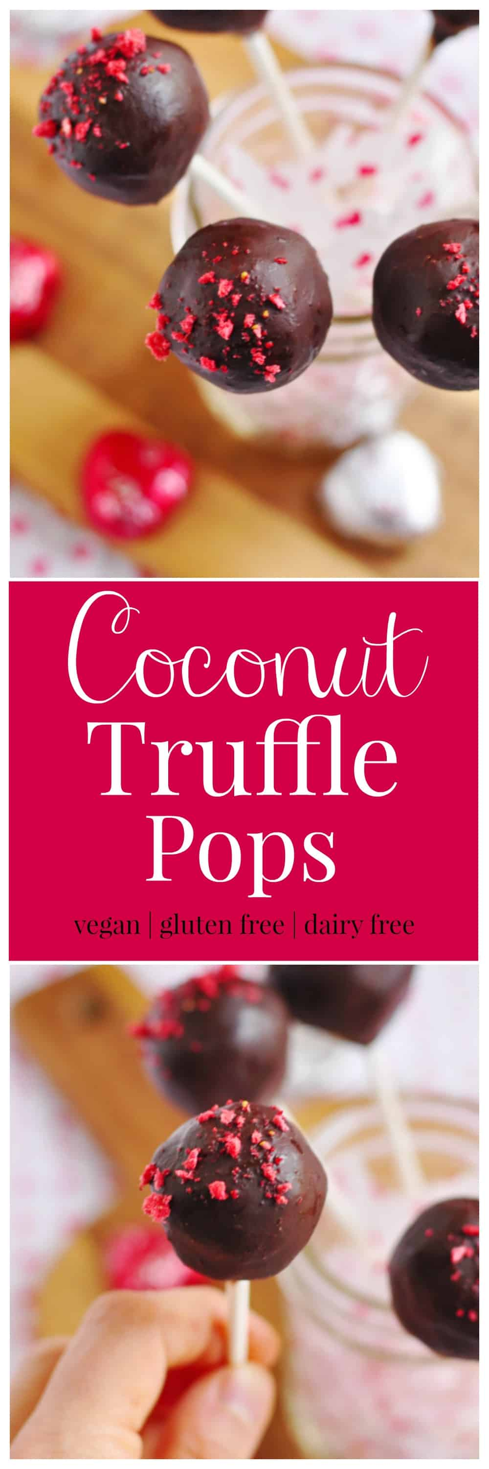 Coconut Truffle Pops. Be Whole. Be You.