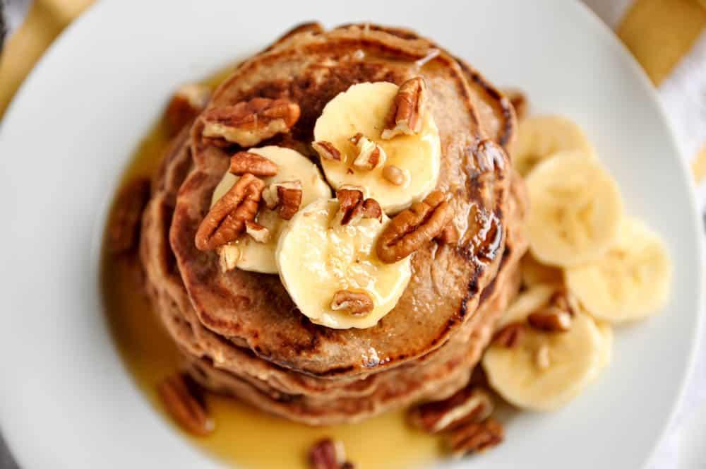 Gluten Free Banana Bread Pancake.
