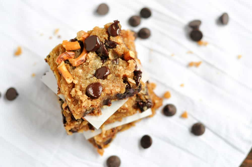 The Big Shift {Recipe: Loaded Chickpea Blondies}