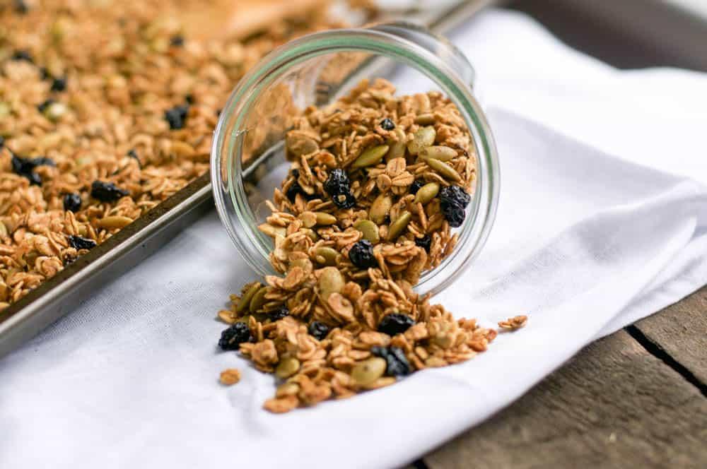 Nut Free Blueberry Muffin Granola