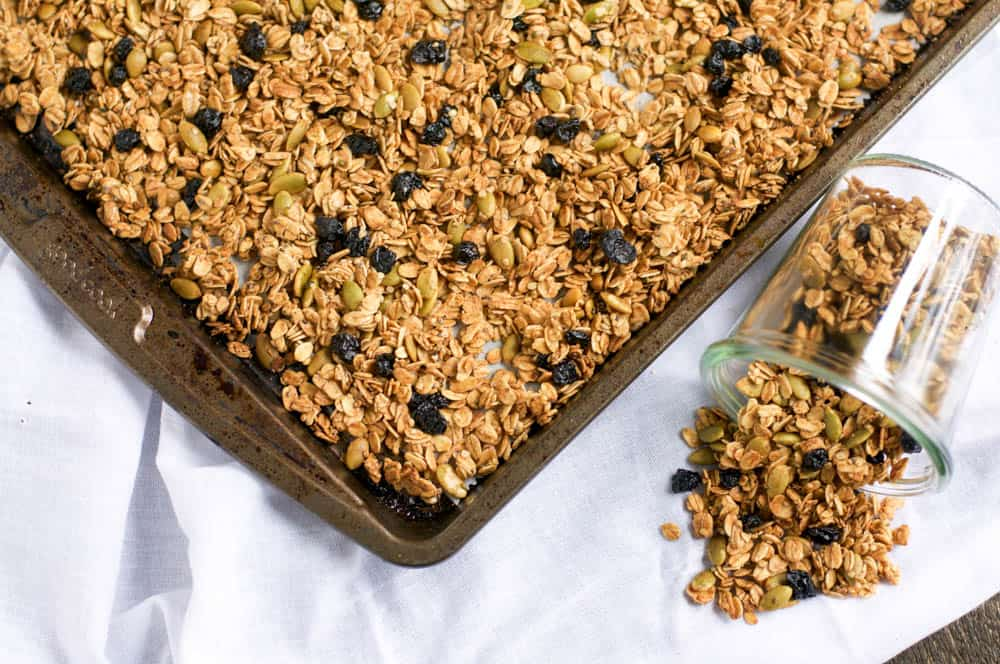 Nut Free Blueberry Muffin Granola