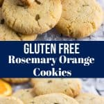Rosemary Orange Cookies
