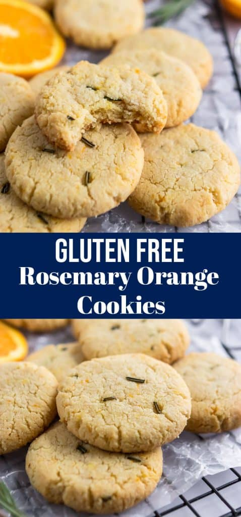 Rosemary Orange Cookies