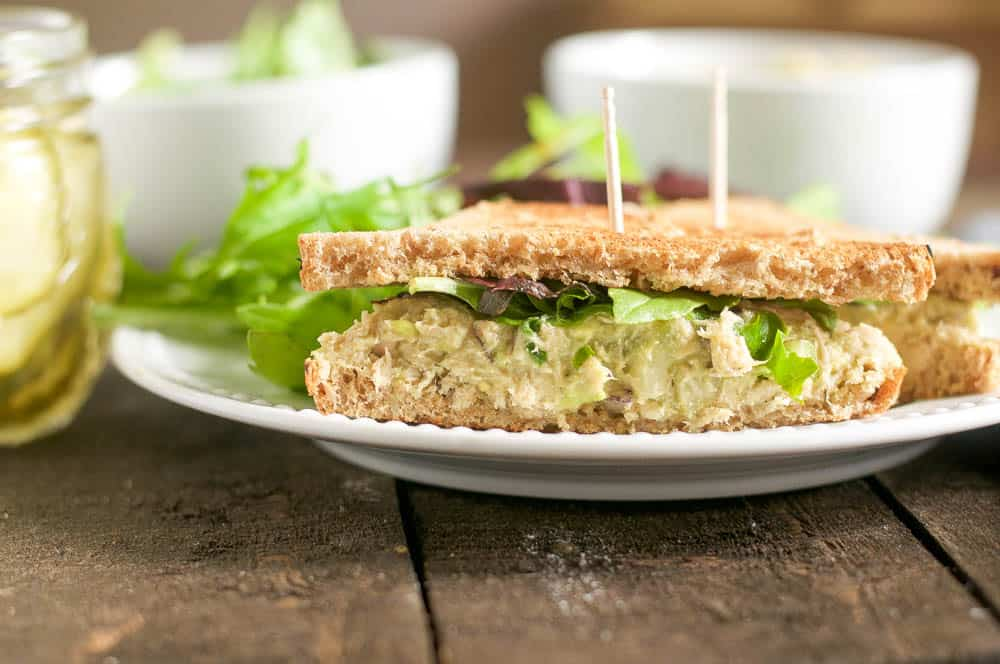Avocado Dill Tuna Salad