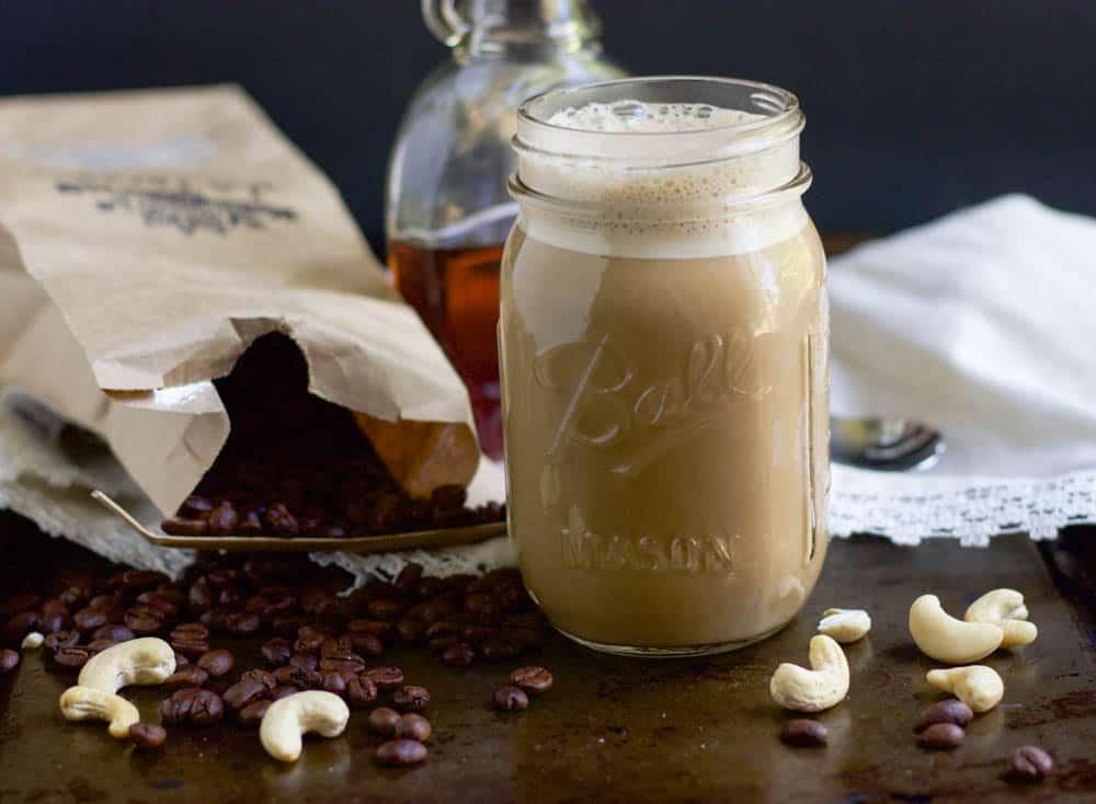 Maple Vanilla Cashew Coffee