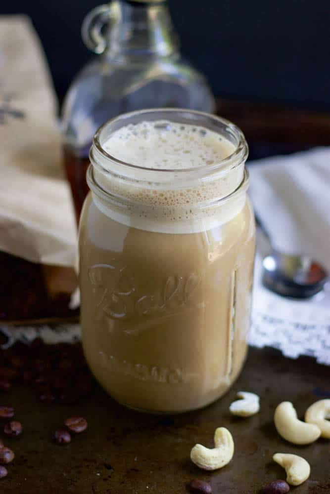 Maple Vanilla Cashew Coffee