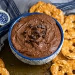 Sea Salt + Chocolate Hummus takes your favorite chickpea to a whole new sweet level. Packed with protein but also rich chocolatey flavor that everyone will love. bewholebeyou.com
