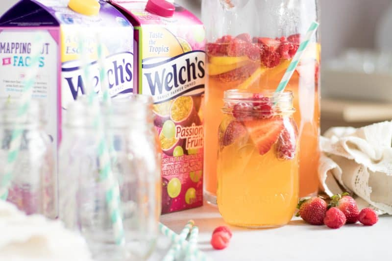 Tropical Berry Sangria with Welch's