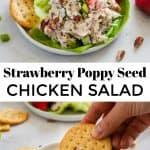 Strawberry Poppy Seed Chicken Salad