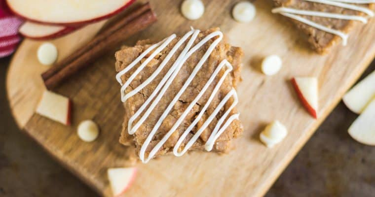 White Bean Apple Pie Bars