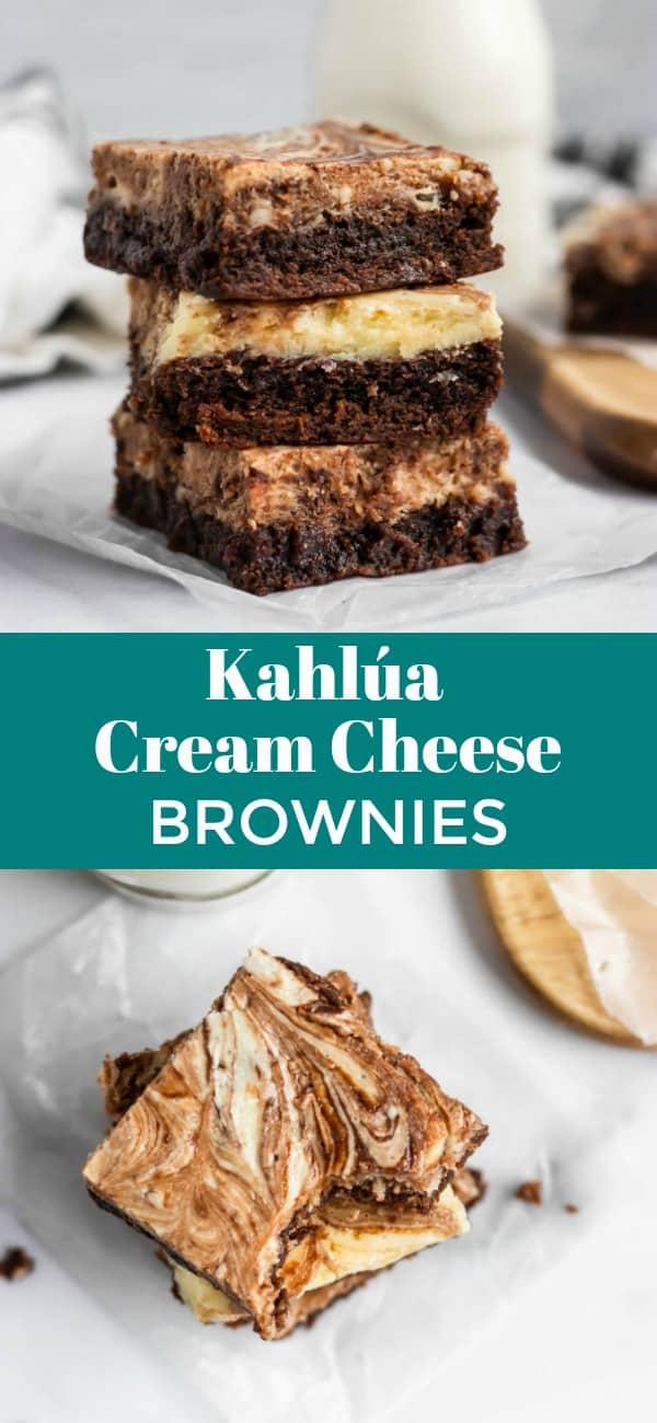 Kahlúa Cream Cheese Brownies
