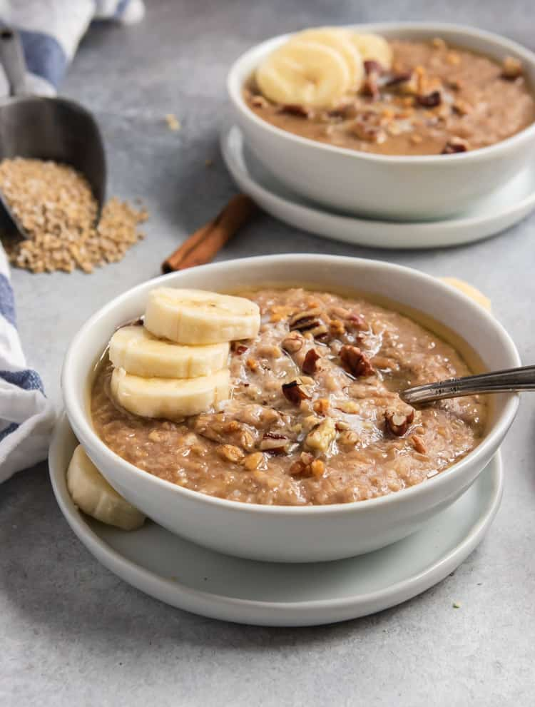 Banana Bread Instant Pot Steel Cut Oatmeal