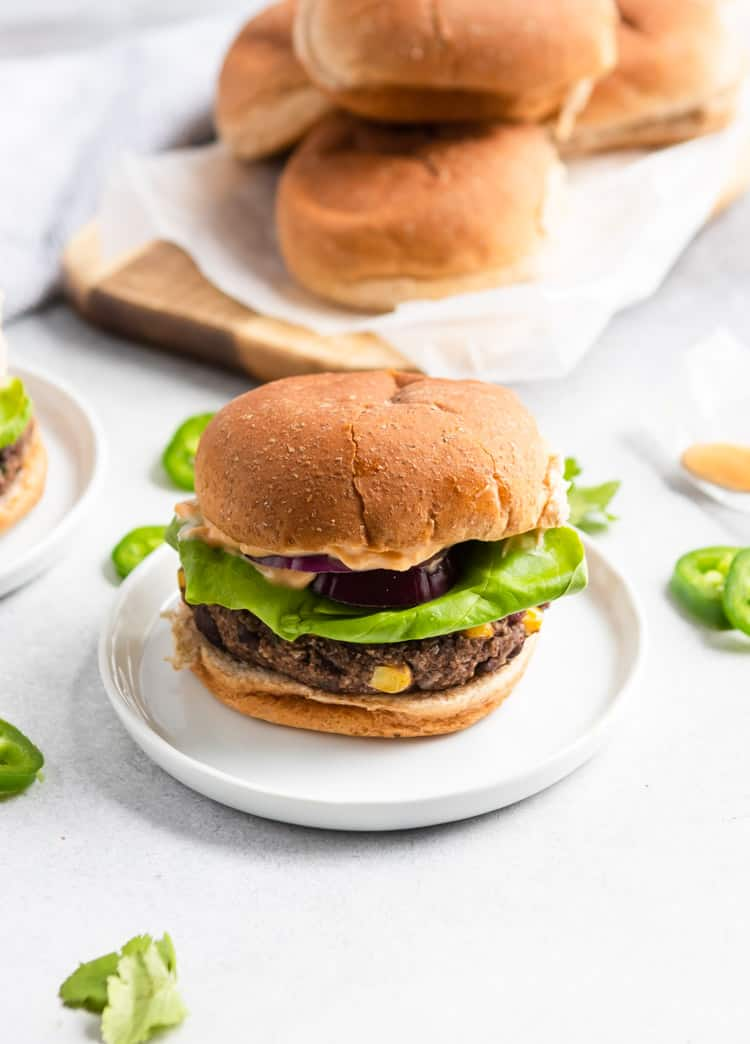 The Best Black Bean Burgers with Cilantro and Lime