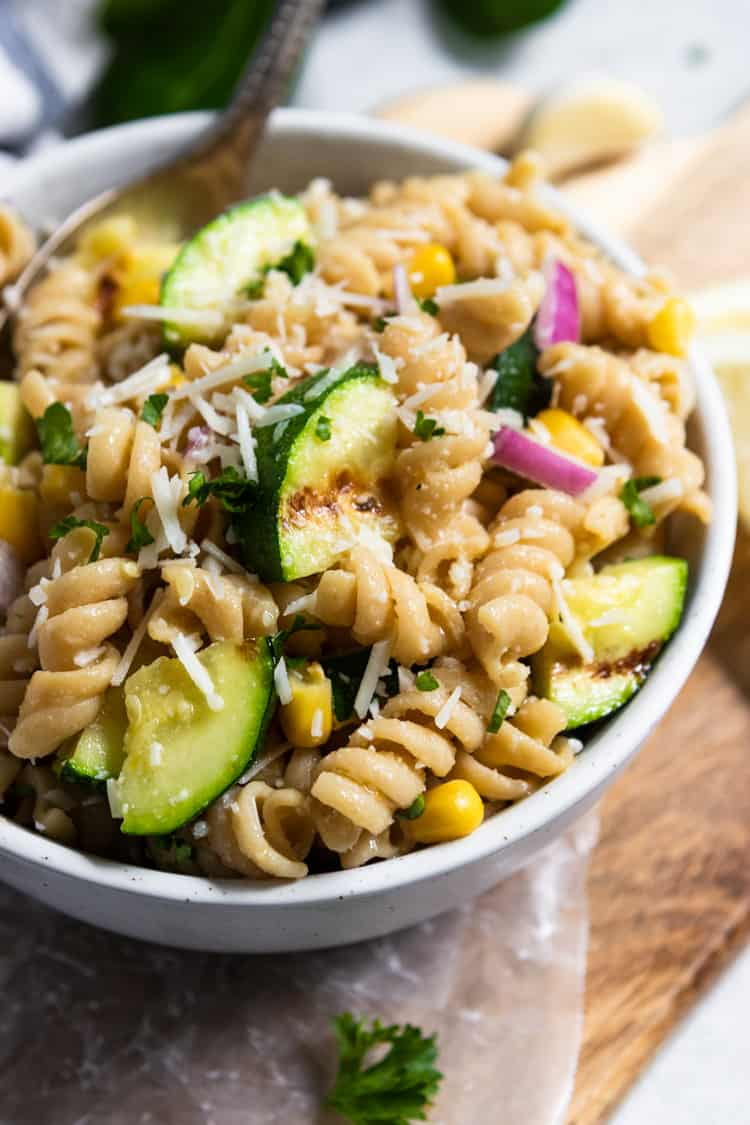 Zucchini recipes pasta salad