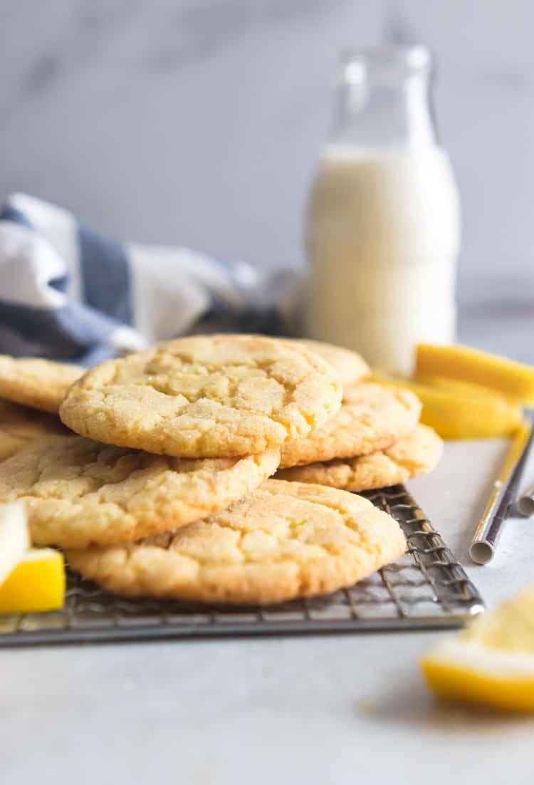 007d669e6b Small Batch Lemon Sugar Cookies | Lemons + Zest
