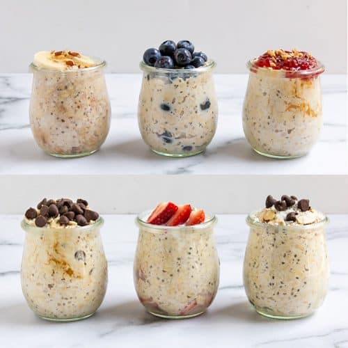 Easy Overnight Oats Recipes.