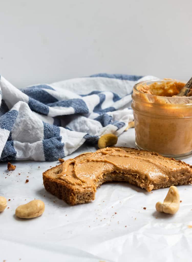 Maple Vanilla Cashew Butter Recipe.
