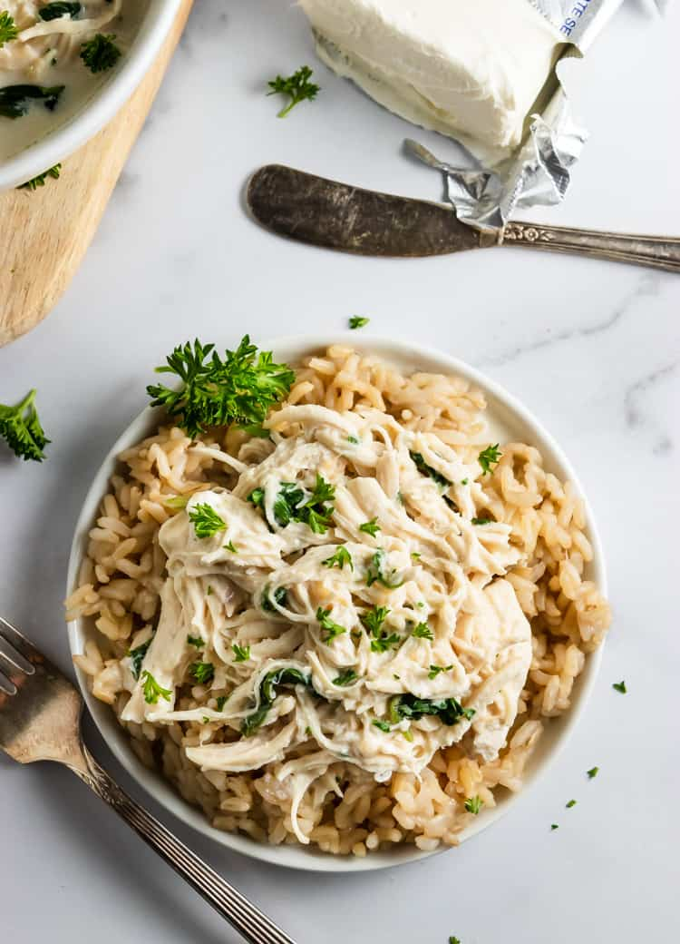 Instant Pot Creamy Garlic Parmesan Chicken