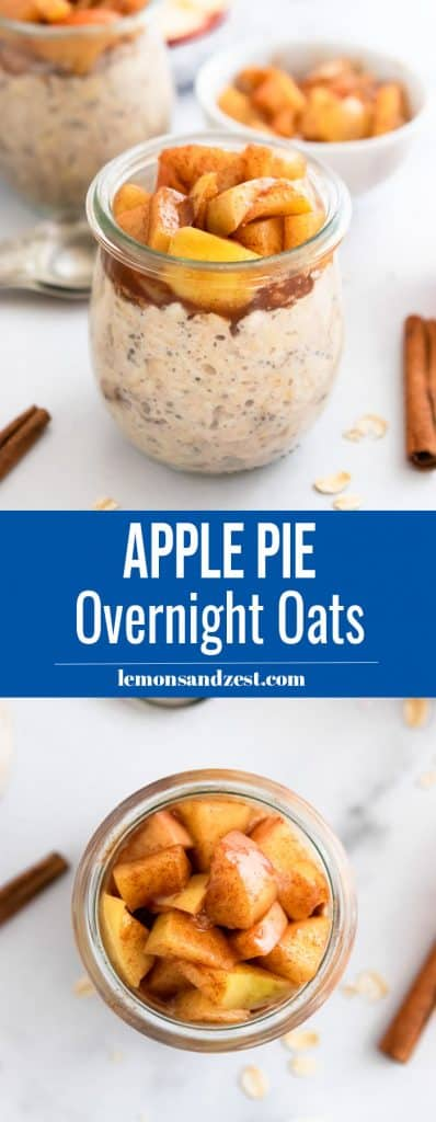 Apple Pie Overnight Oats Pin