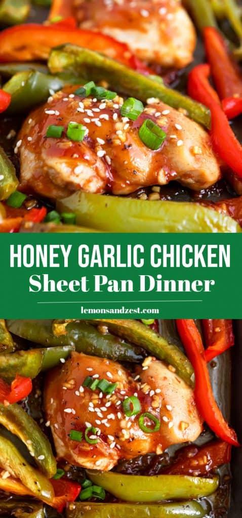 Honey Garlic Chicken Pin.
