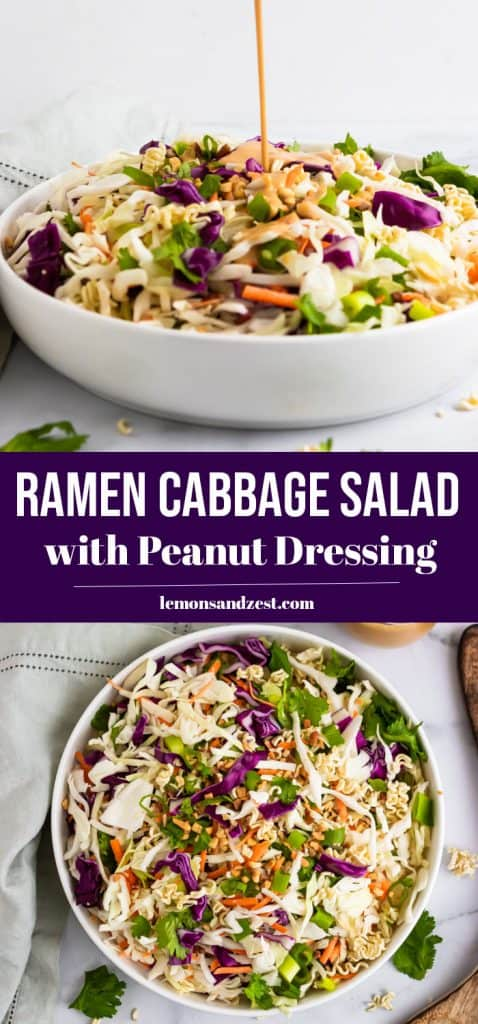 Ramen Cabbage Salad Pin.