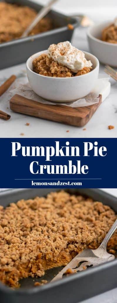 Pumpkin Pie Crumble Pin.
