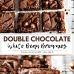 white bean brownies.