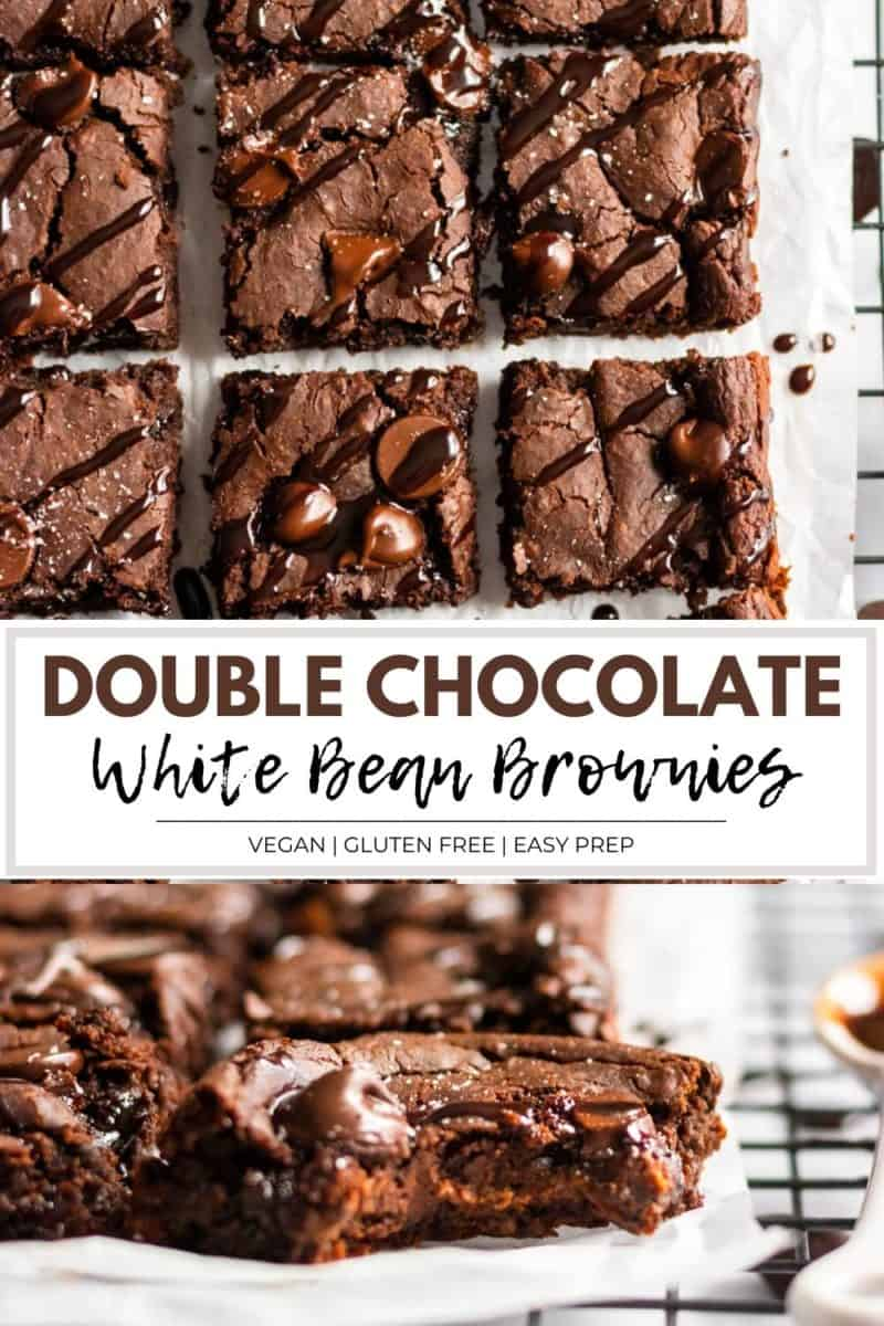 white bean brownies.