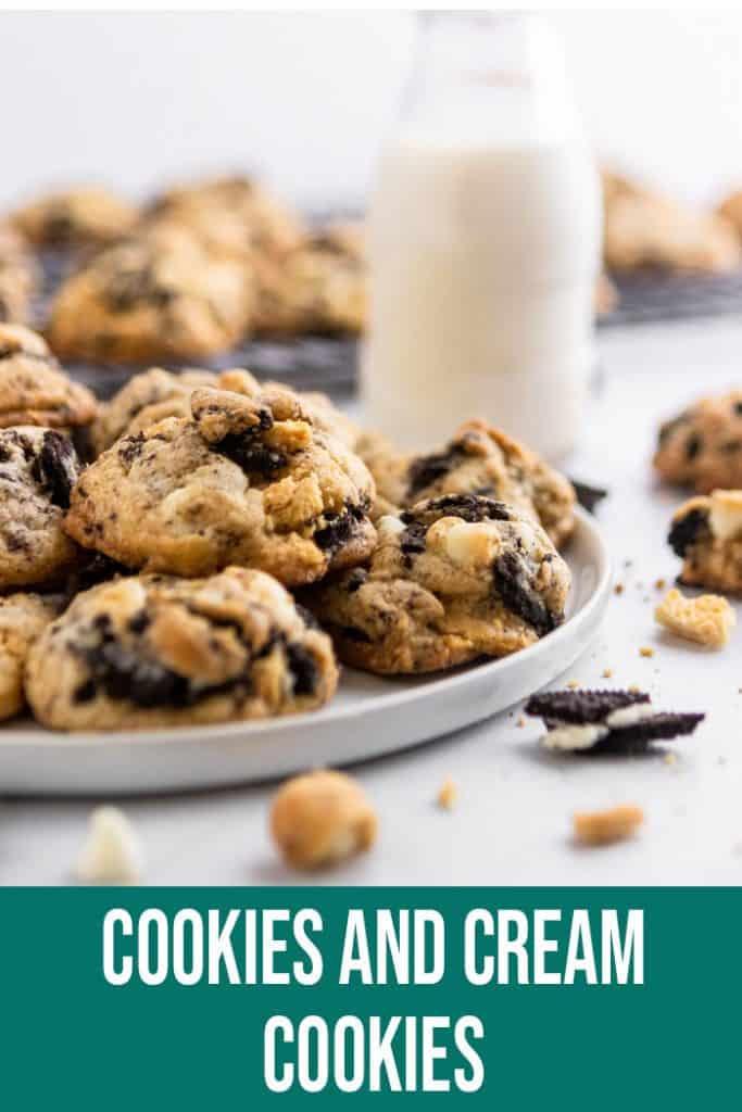 Cookies and Cream Cookies Pin.